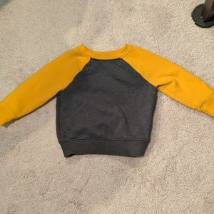 12 m Yellow and Grey Sweater